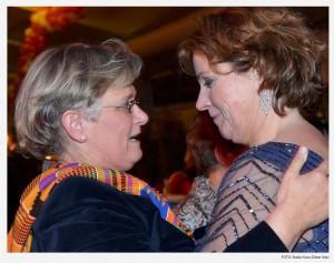 Dr. Elke Kleuren Schryvers und Steffi Neu