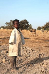 Kind im Niger